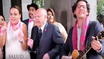José narro baila en campaña