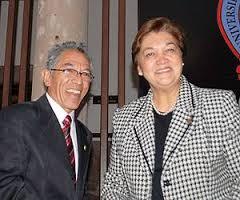salvador-jara-guerrero-silvia-figueroa-zamudio-rectora-universidad-michoacana