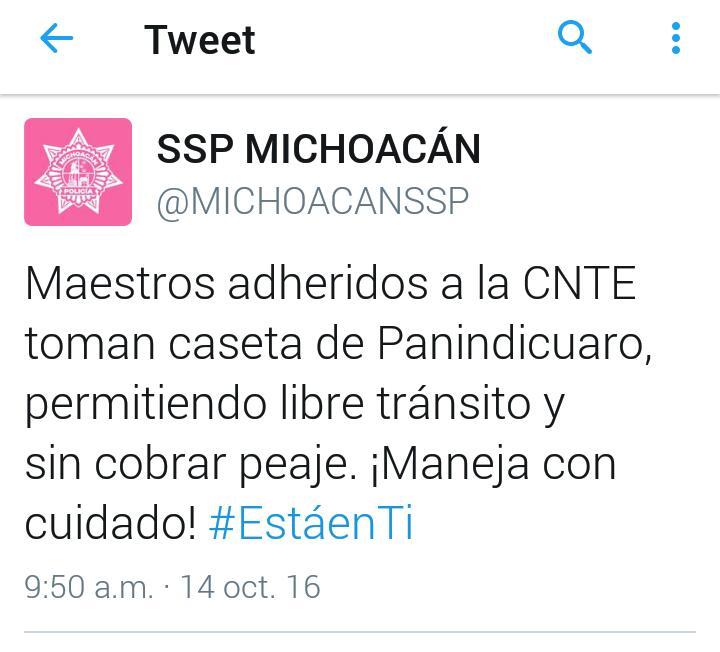 ssp-twitter-casea-cobro-michoacan