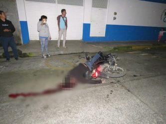 Muerto por accidente automovilístico