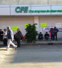 Protesta en Valle de México contra la CFE
