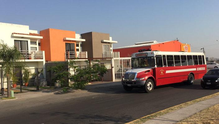 Fuga de combustible en tlajomulco jalisco provoca la for Villas terranova tlajomulco