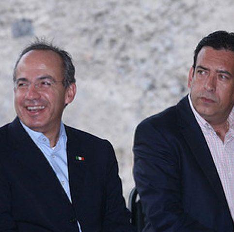 Humberto Moreira y Felipe Calderón