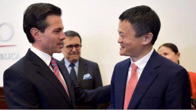 EPN y Jack Ma