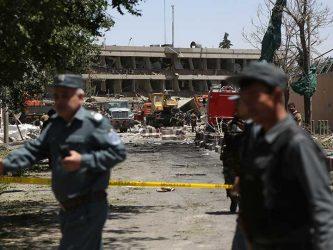 Kabul explosión de bomba