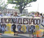Marchan por secuestro de Salvador Adame