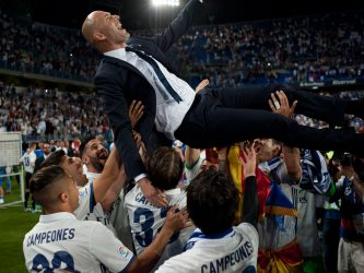 Real Madrid Campeón liga española 2017