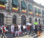 Periodistas se manifiestan en Morelia