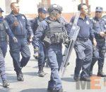 Repliegan normalistas en Av Madero