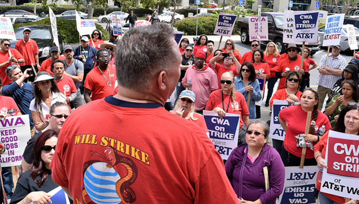 Watch video · AT&T reached a tentative agreement on a new contract with 17, workers, about half of the total that carried out a strike last weekend.