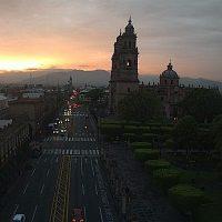 Cielo despejado pero con sensación de frío para Michoacán