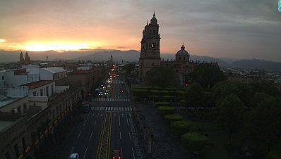 Clima Morelia Michoacán 30 de Mayo 2017