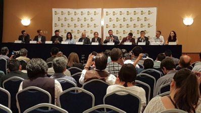 Conferencia sobre espionaje en México