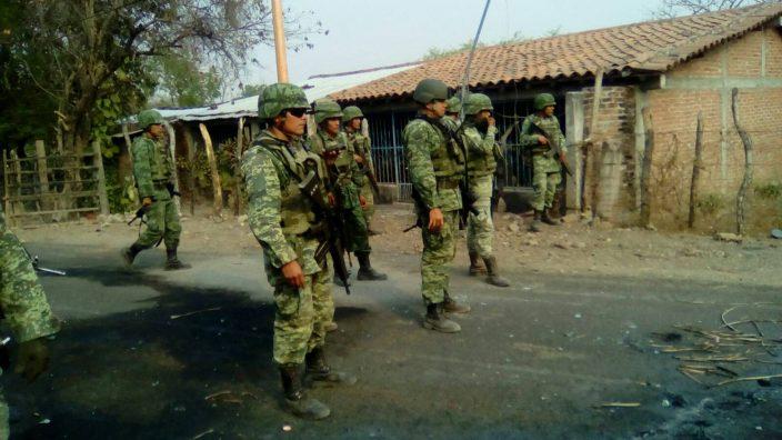 Libera Ejército Mexicano a 13 personas secuestradas en Ajuchitlán del Progreso