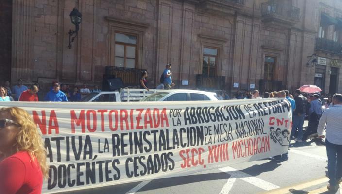CNTE Morelia, Pagos