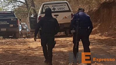 Cadáver sepultado clandestinamente en Uruapan
