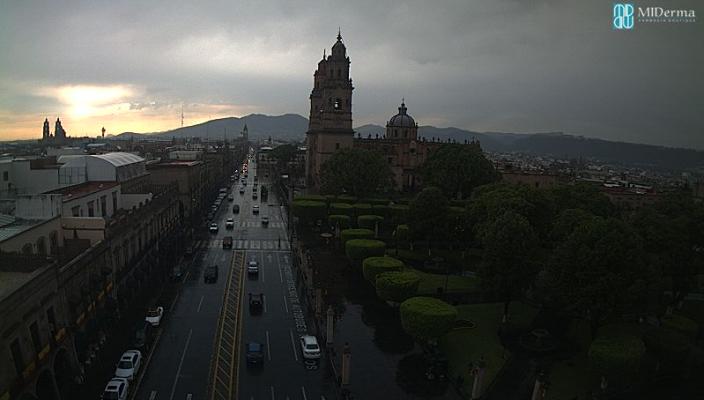 Probabilidad de tormentas muy fuertes en Michoacán