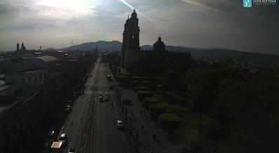 clima Morelia MIchoacán 10 Junio 2017