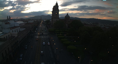Clima Morelia Michoacán 16 de Junio