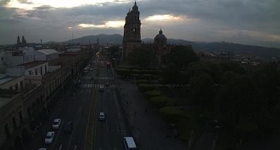 Clima Morelia Michoacán 27 de Junio de 2017