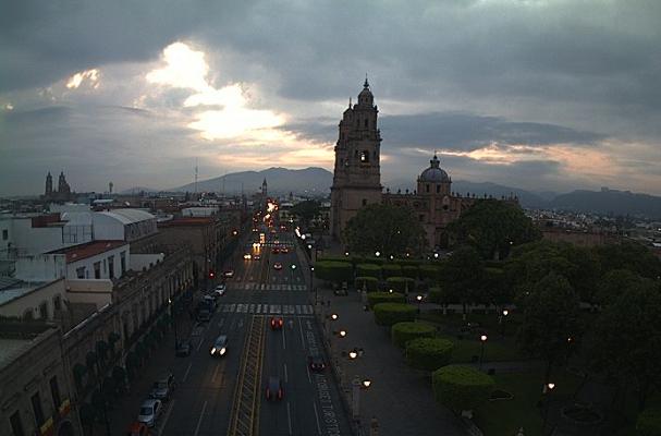 Clima Morelia Michoacán 12 de junio 2017