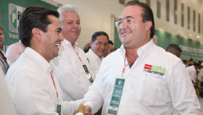 Fernando Charleston y Javier Duarte