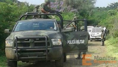 Militares en Apatzingán