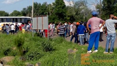 Operativo en Tiripetío Michoacán
