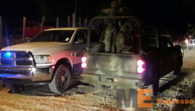 Rafaguean a policías en La Mira Michoacán