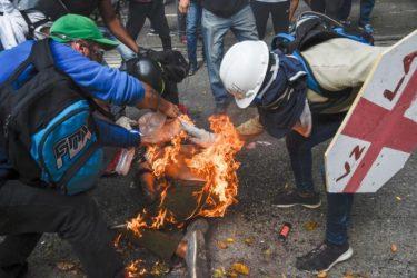 Enfrentamientos en Venezuela