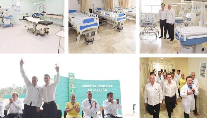 Ssa viaja a hospital inaugurado en Chiapas para verificar funciones