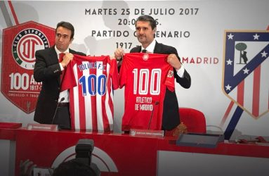 Toluca vs Atlético de Madrid