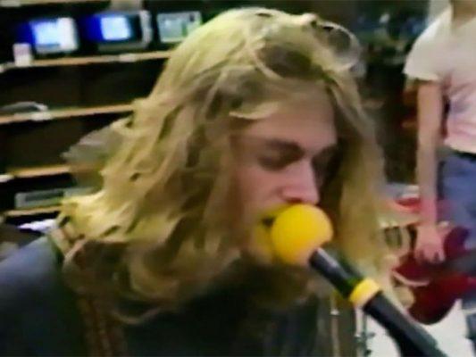 Difunden video inédito de los inicios de Nirvana