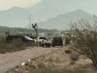 Descuartizado en Arteaga Coahuila