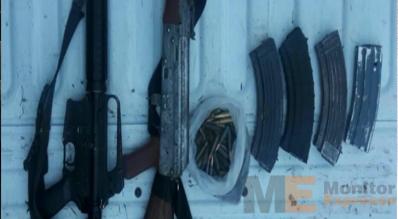 Armas largas en Apatzingán Michoacán