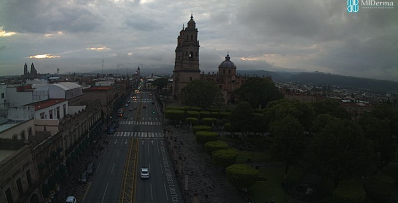 Clima Michoacán 03 de Julio de 2017