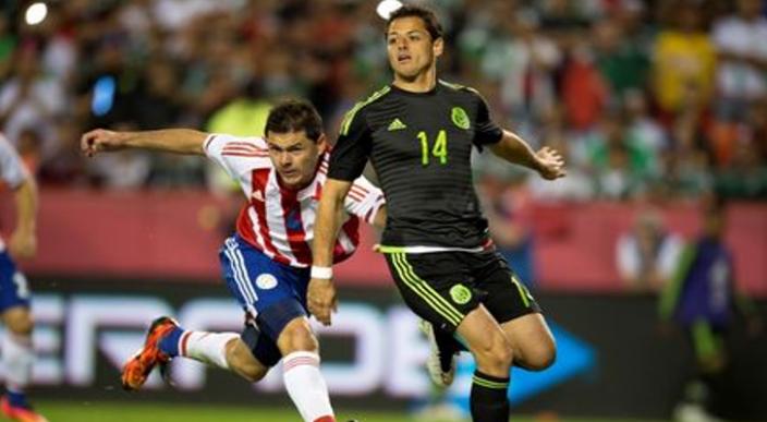 Chicharito y Osvaldo Martinez