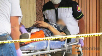 Grave joven baleado en Zamora Michoacán