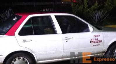 Hombre enfermo muere a bordo de un taxi