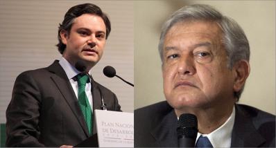 Aurelio Nuño y López Obrador