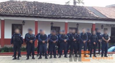 Policías ante la PGJE