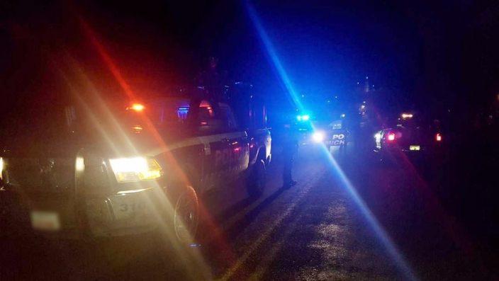 Rafaguean base policiaca en Tingüindín Michoacán