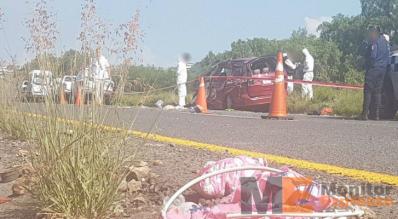 Tragico accidente en la Cuitzeo Morelia
