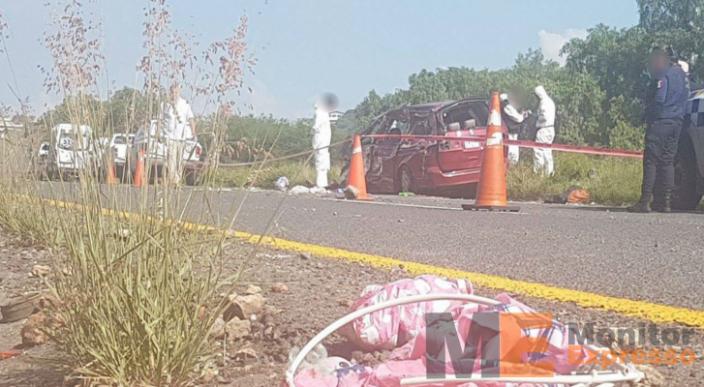 Dos menores muertos y 3 heridos deja choque en la Zinapécuaro-Cuitzeo