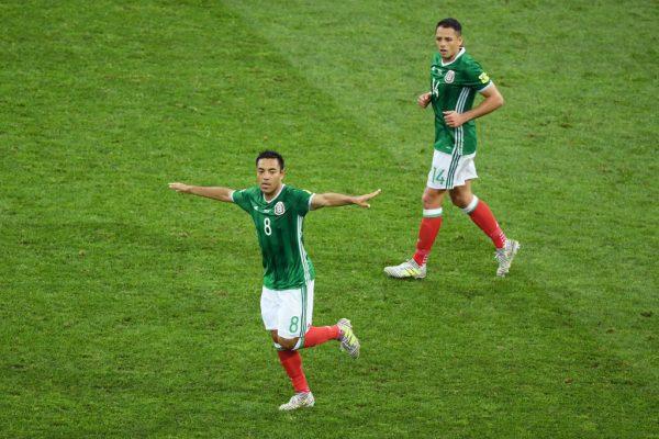 Nombran al gol de Fabián vs Alemania el mejor de la Confederaciones