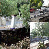 """Ayuntamiento de Morelia """"remoza"""" puente y otro está a punto de colapsar"""