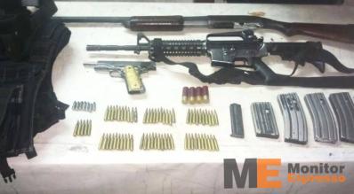 Armamento, equipo táctico en Múgica Michoacán
