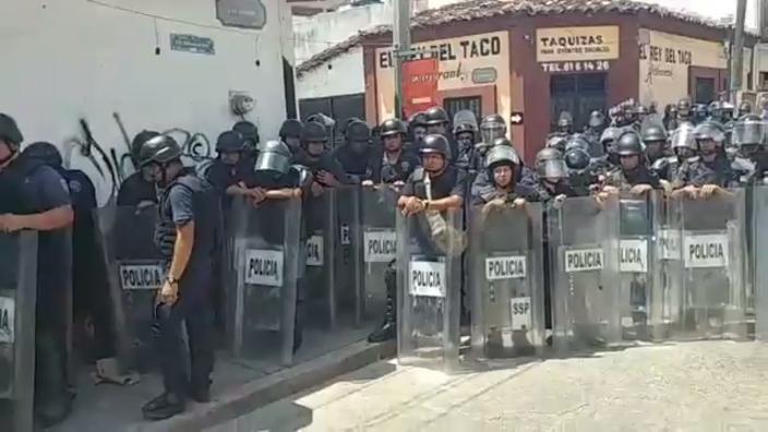 Rechazan a EPN en Chiapas