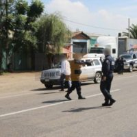 Sujetos armados atacan a policías en Tanhuato Michoacán un agente resultó herido