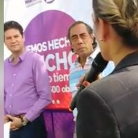 Reclaman a Alfonso Martínez por obra inconclusa en Morelia Michoacán (Video)